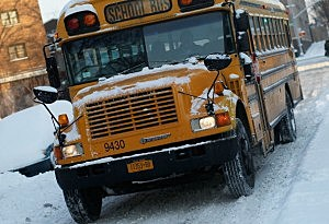 School Buses Are Slow To Start On Bad Weather Days